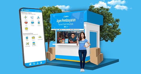 Bisnis PPOB Lunasin bisa diakses lewat smartphone ataupun Komputer
